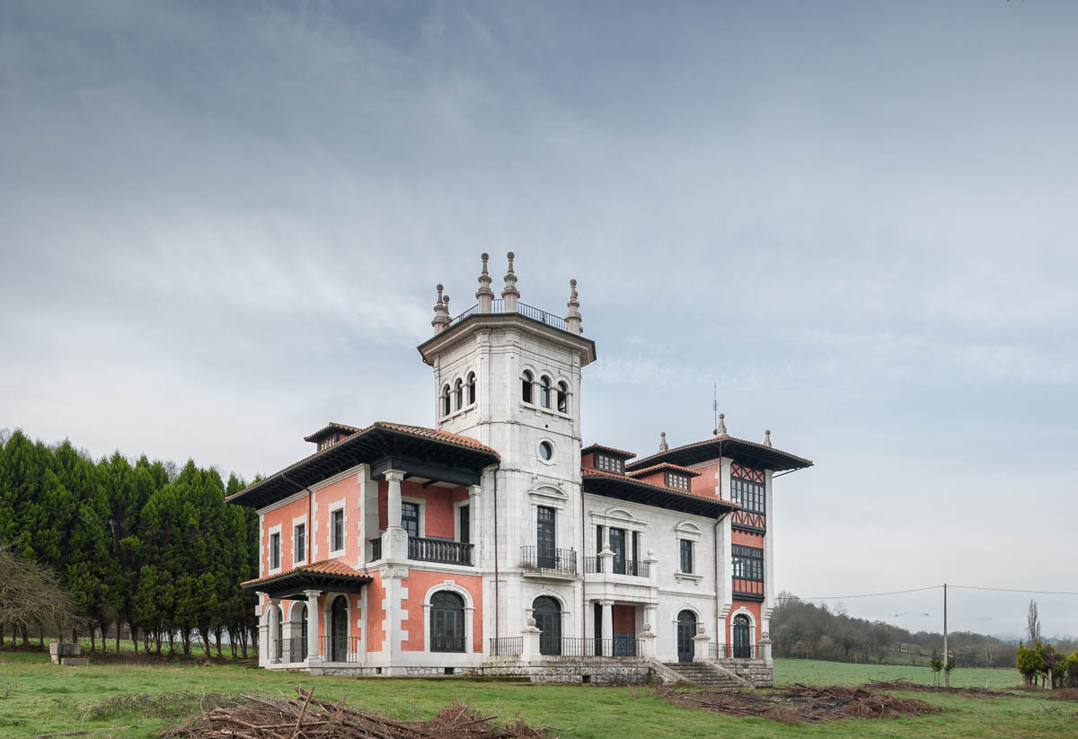 Palacio de Sotiello, Sevares, Piloña