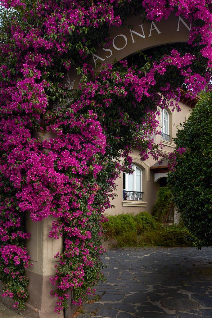 Villa Luisa, casa de indianos de estilo racionalista a la entrada de Navia, Asturias