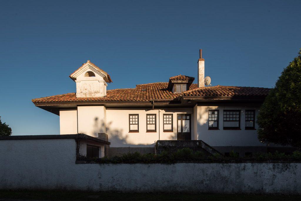 Bungaló del Marqués de Aledo en la playa de Santa Marina, Ribadesella