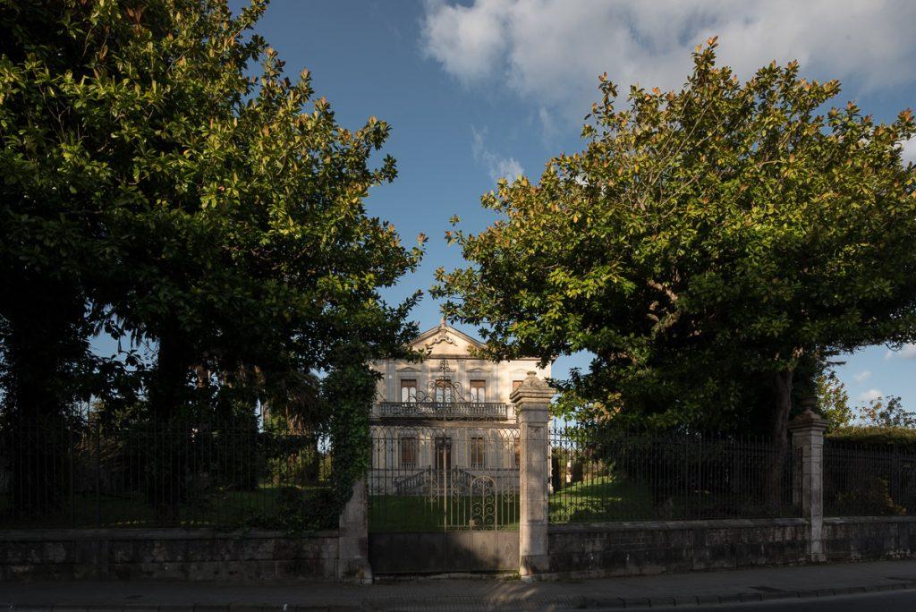 Palacete de la Marquesa de Argüelles en Llanes