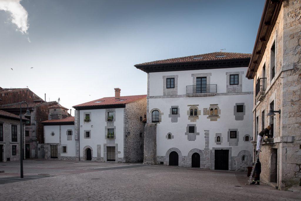 Palacio de Gastañaga en el Casco Histórico de Llanes, Asturias