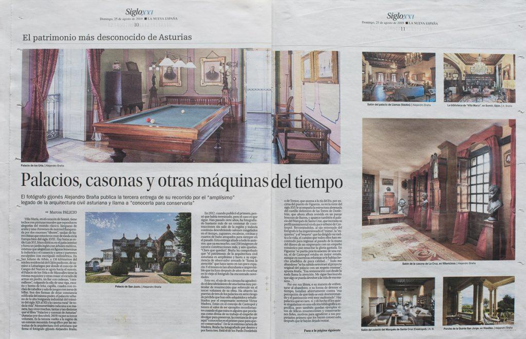 Reportaje sobre los Palacios y Casonas de Asturias