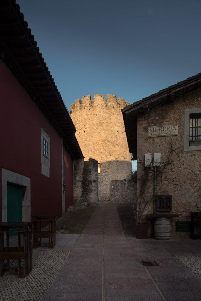 Torreón de Llanes en su Casco Histórico