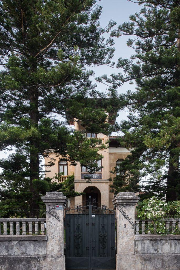Villa Argentina, casa de indianos en la  Ribadesella, Asturias