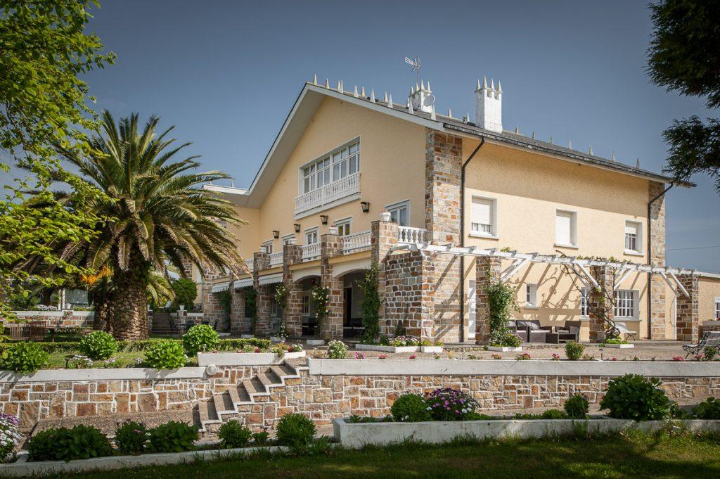 Villa Borinquen, casa de indianos en Tox, concejo de Navia, Asturias