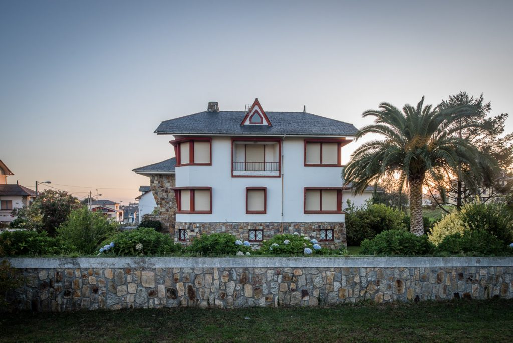 Chalé indiano Villa Isabel en Puerto de Vega