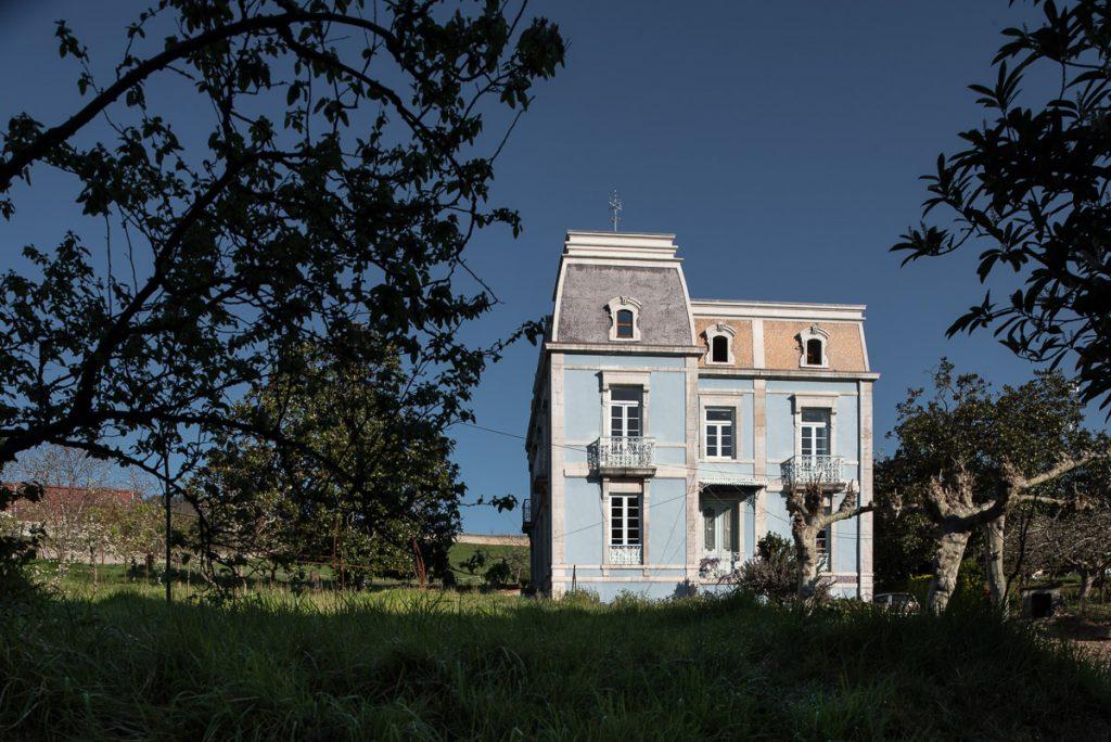 Casa de indianos El Calabion en Grado, Asturias