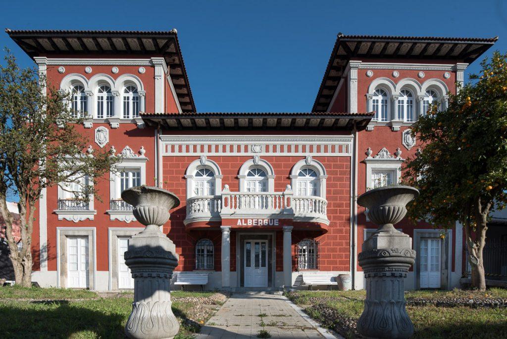 La Quintana, casa de indianos en Grado convertida ahora en albuergue de peregrinos