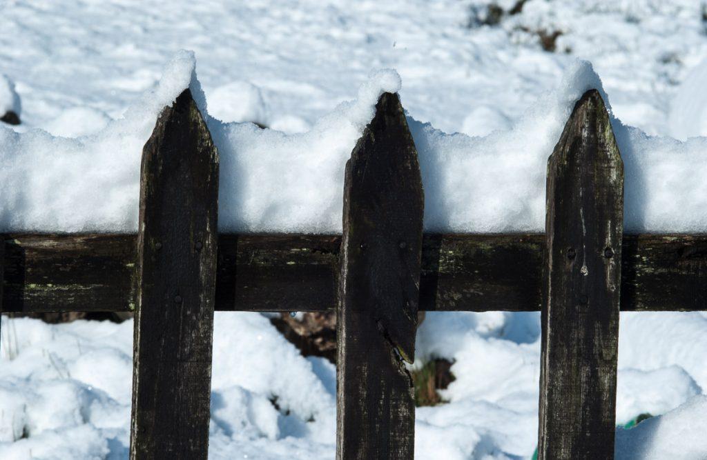 Cierre con nieve en Asturias