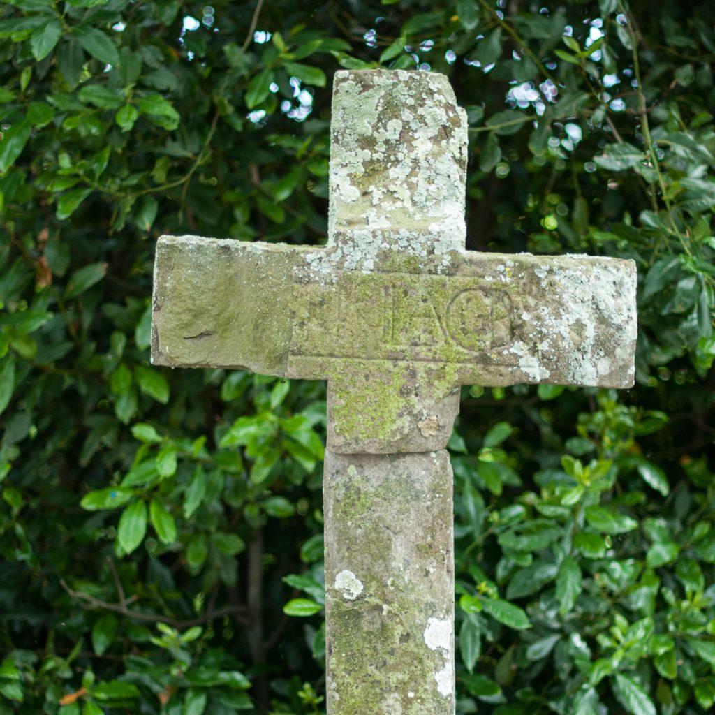 Cruz en el Camino de Santiago por la Costa de Asturias