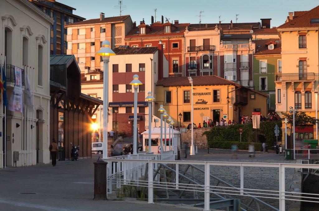 Vista del barrio de Cimadevilla en Gijón