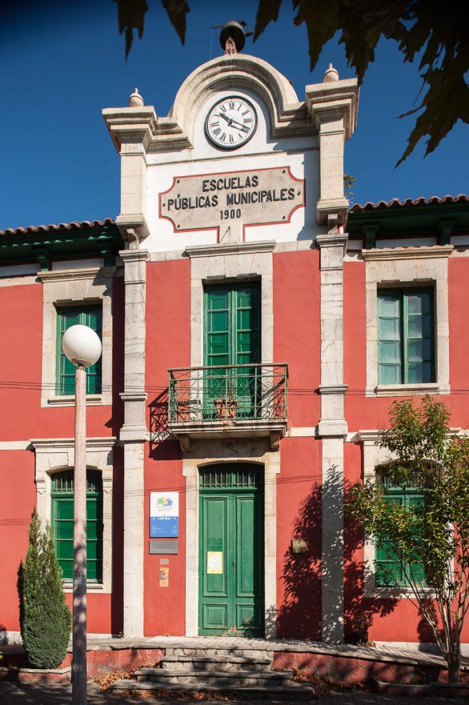 Escuelas de El Carmen en Ribadesella