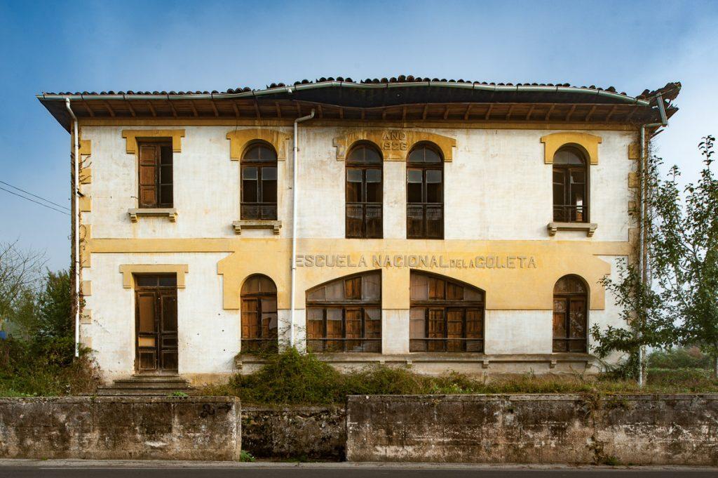 Escuela de La Goleta, en Piloña