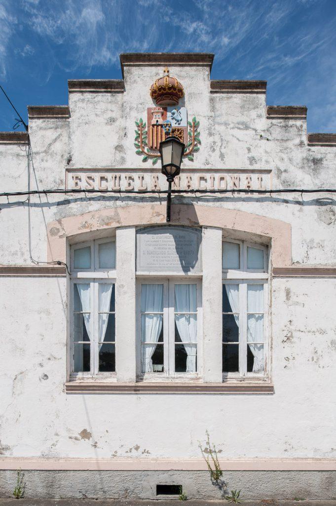 Escuela de Talaren en Navia