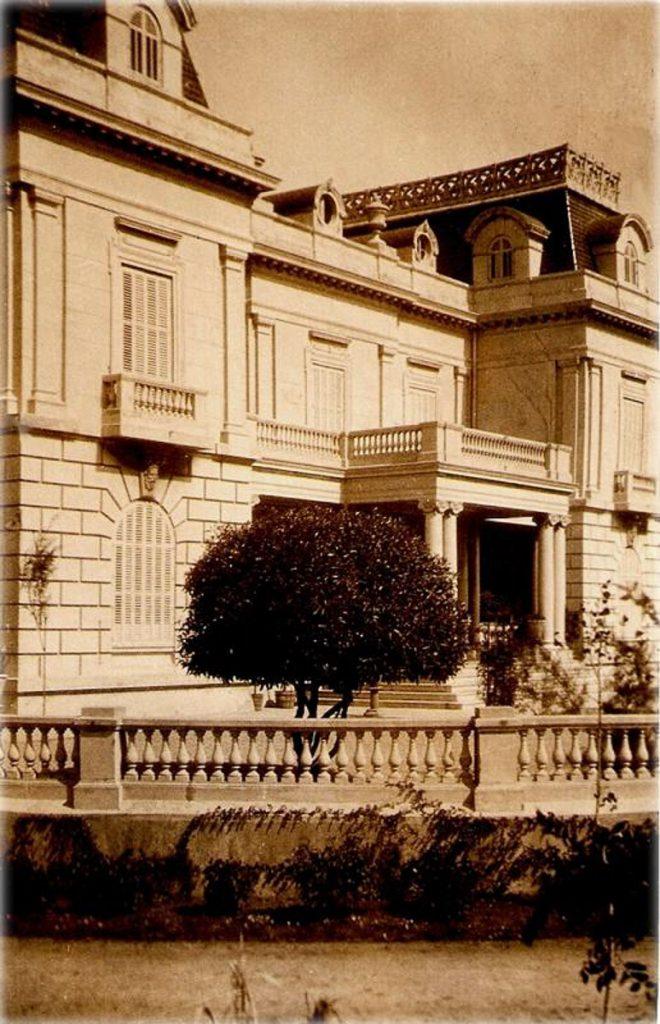 Fachada del Palacio Jardón en una imagen de los años veinte del siglo XX