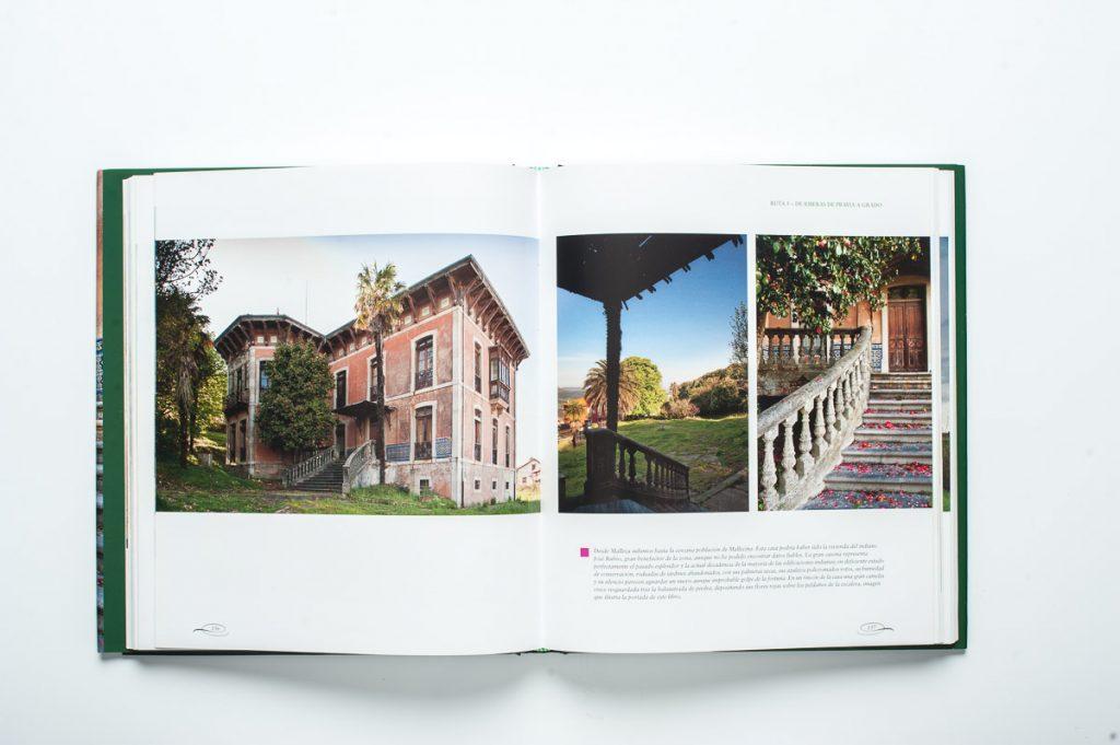 Páginas interiores del libro Asturias, Tierra de Indianos