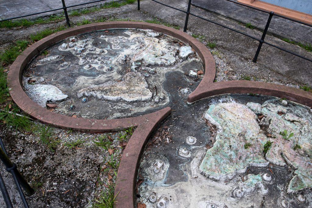 Mapa Mundi en la escuela de la Real Compañía de Minas