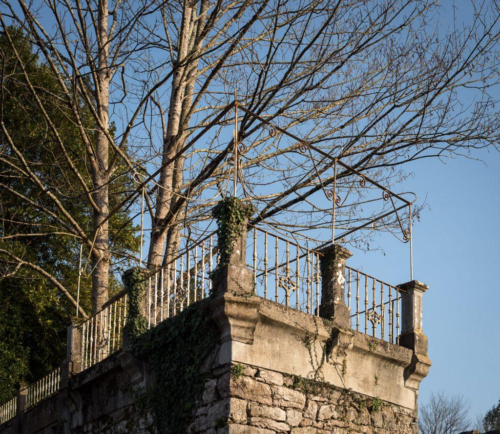 Mirador del Palacio de Faes en Coviella, Cangas de Onís