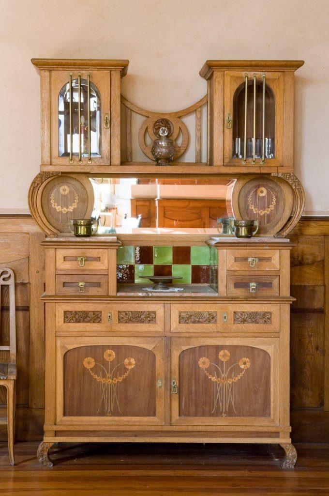 Mueble del comedor de La Javariega en Poo de lanes