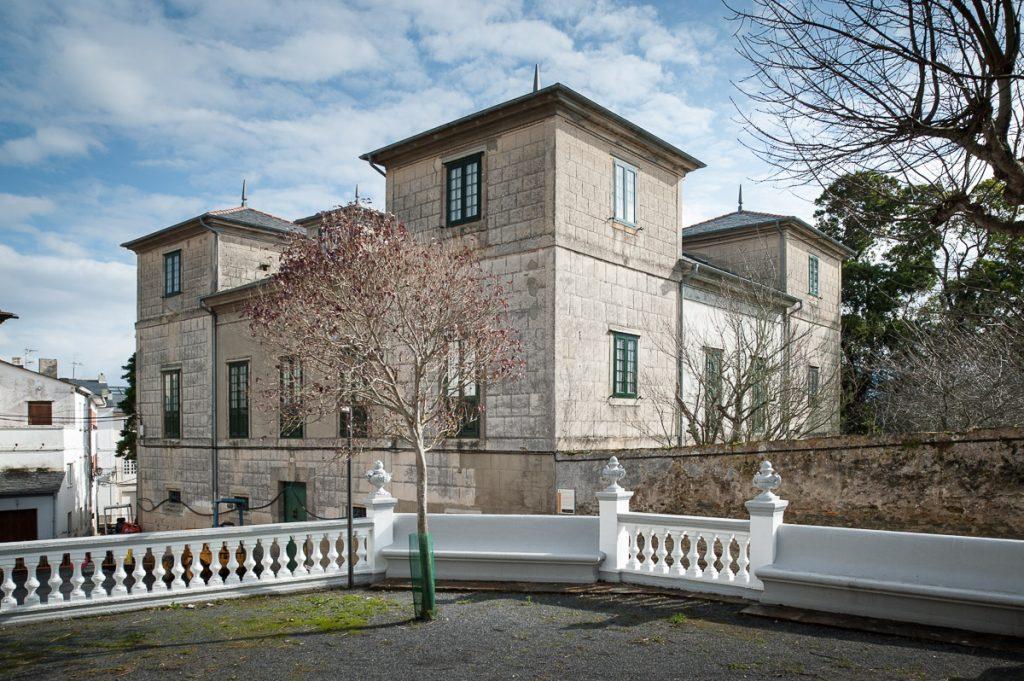 Palacio de las Cuatro Torres en Castropol, Asturias
