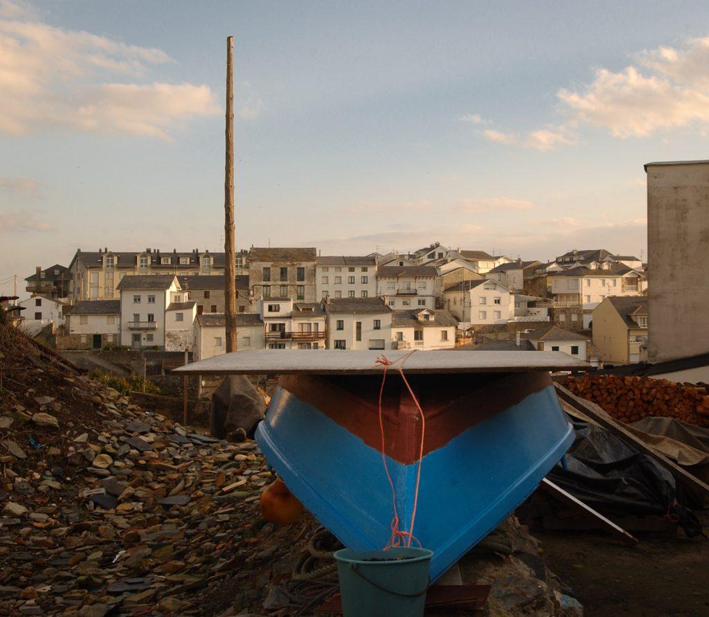Vista del puerto de Tapia de Casariego, villa marinera en el Occidente de Asturias