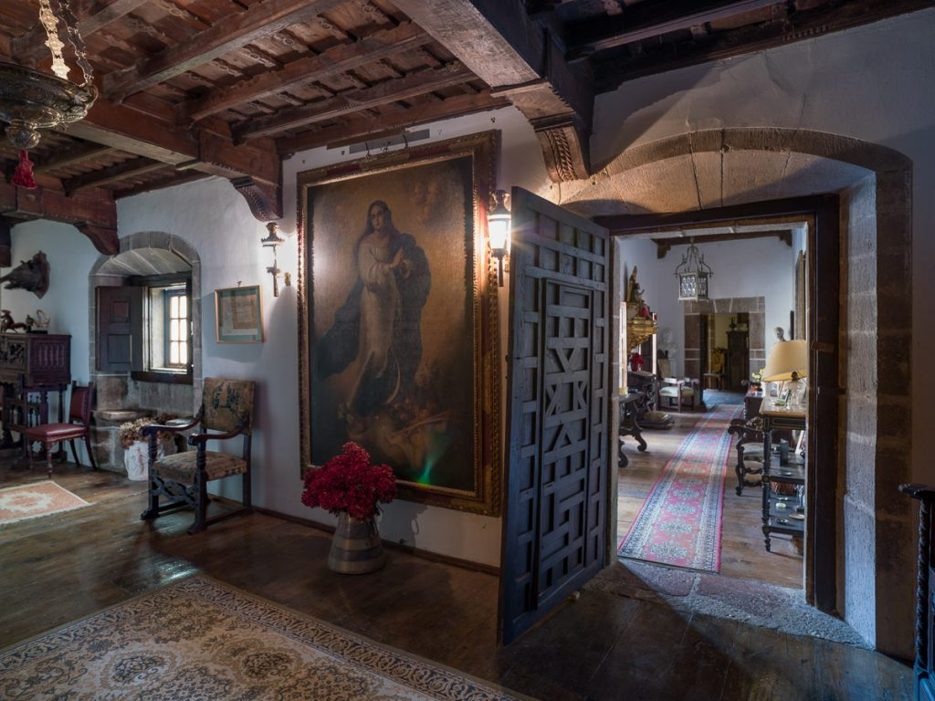 Interior del Palacio de la Espriella de los Marqueses de Argüelles