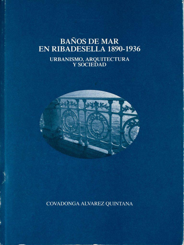 Portada del libro Baños de Mar en Ribadesella 1890-1936 que forma parte de la Biblioteca Indiana