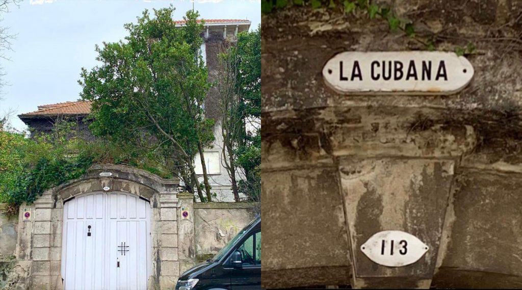 Detalles de la casa Villa La Cubana en Santander
