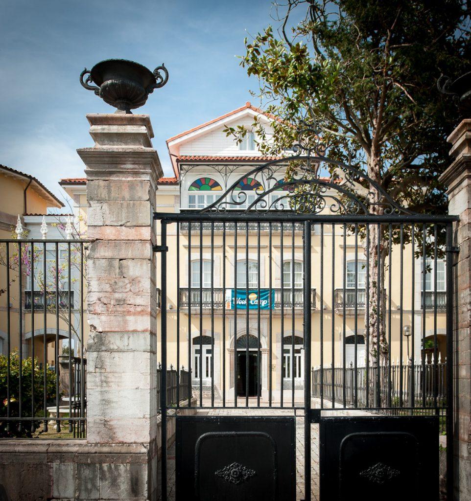 Rejería del Palacio de Garaña en Llanes, Asturias